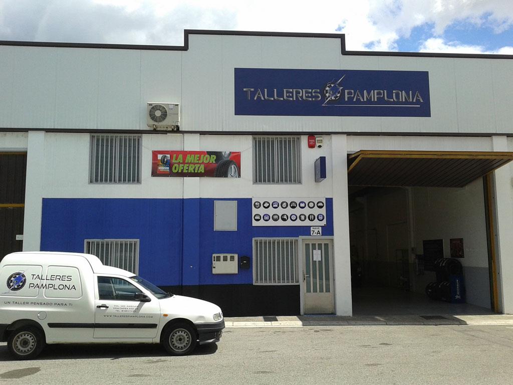 Servicios de talleres pamplona - Fachadas de talleres ...